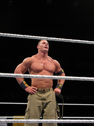"Former ""Blue's Clues"" host wants to wrestle John Cena for right to host reboot!"