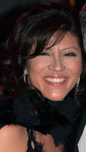 Julie Chen supports husband Les Moonves on Big Brother!