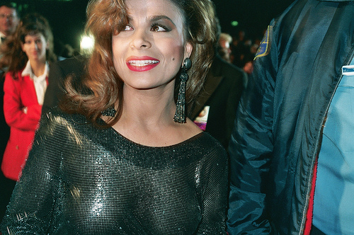 WATCH: Paula Abdul falls of stage during performance!