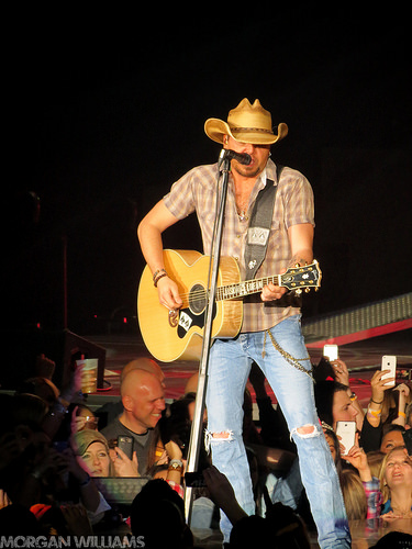 How Busy Is Jason Aldean?