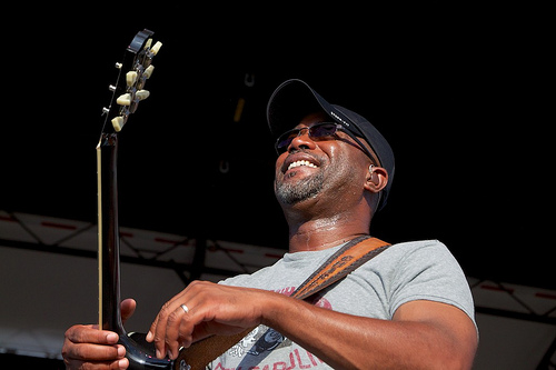 "See the video for the new Darius Rucker song ""Straight To Hell"""