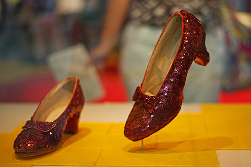 Ruby Red Slippers Found!