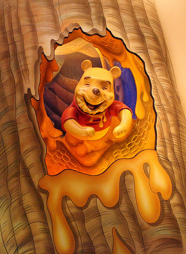 Winnie The Pooh Is The Secret To Happiness....