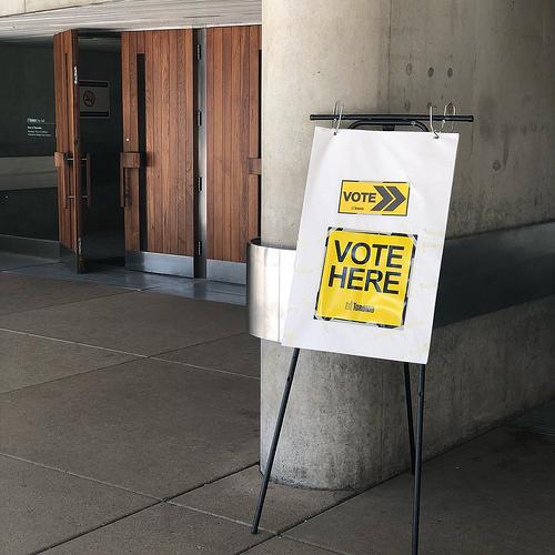 Voting Booth Selfie?