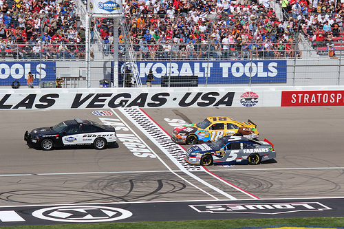 NASCAR Goes West! And the paint schemes are cool!