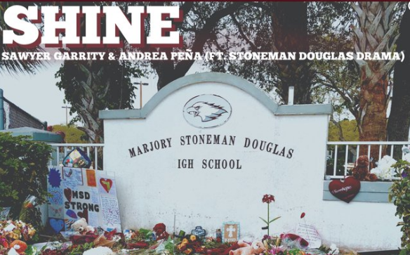 LISTEN: Parkland  Florida students release a song called 'Shine' as charity single.