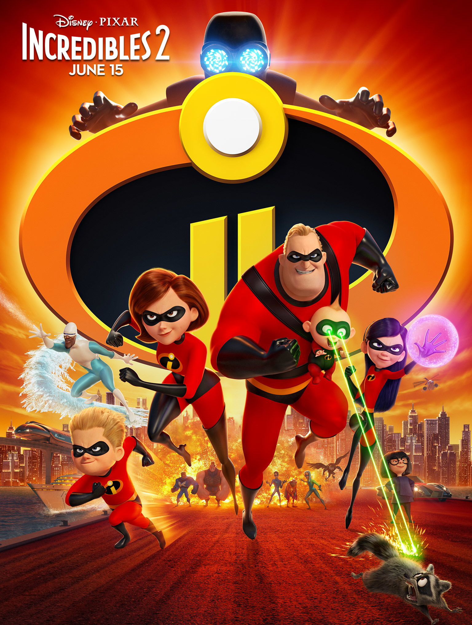 Watch the brand new trailer for Disney/Pixar's Incredibles 2, coming to theatres in 3D June 15!