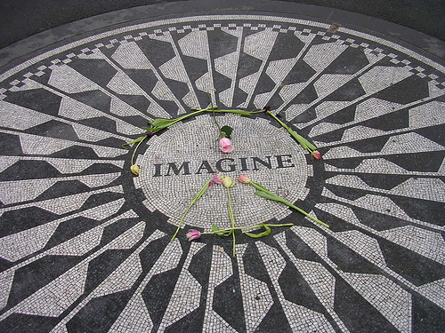 VIDEO: 4th Grader Sings John Lennon's 'Imagine' and the crowd goes wild.