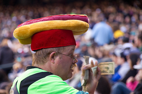 A Phillies Fan Was Injured By...a Flying Hot Dog?