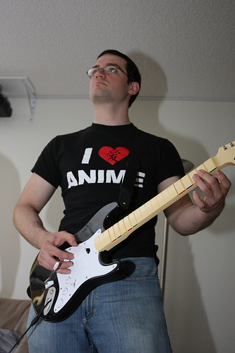 "A Guitarist Shreds ""All Along the Watchtower"" at a Senior Living Center"