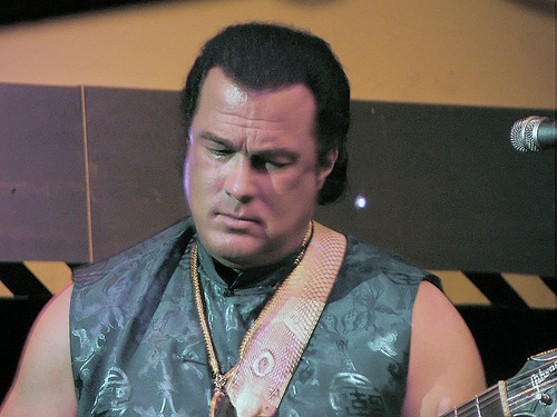 "Steven Seagal Is Now a ""Special Representative"" on U.S. / Russian Humanitarian Issues"
