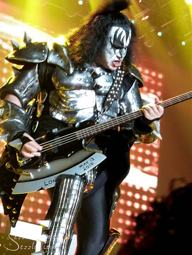 VIDEO: Middle AGED James Corden CAN'T Rock n Roll All Night With KISS...However He Can Do This!