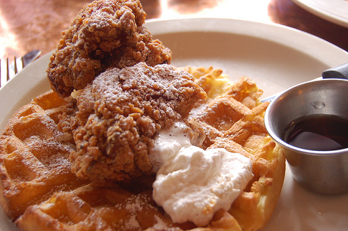 KFC's Chicken and Waffles Finally Go on Sale Today