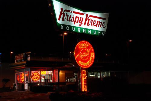 Cops Grieve 'Krispy Kreme Doughnuts' Lost In New Year's Eve Truck Fire...