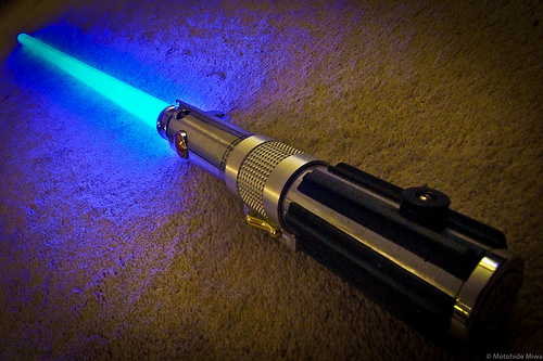 Light Saber Windshield Wipers!
