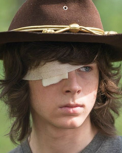 Carl's Farewell to The Walking Dead Family