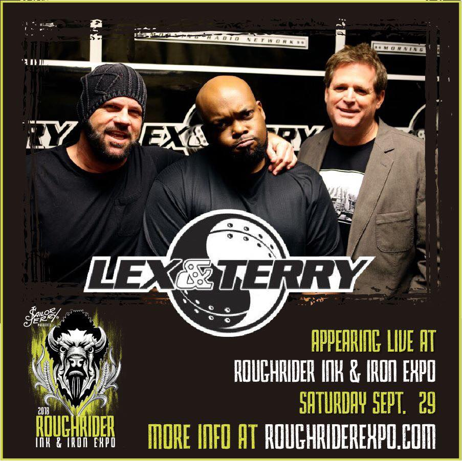 Lex and Terry Live Onstage at The Roughrider Ink & Iron Expo