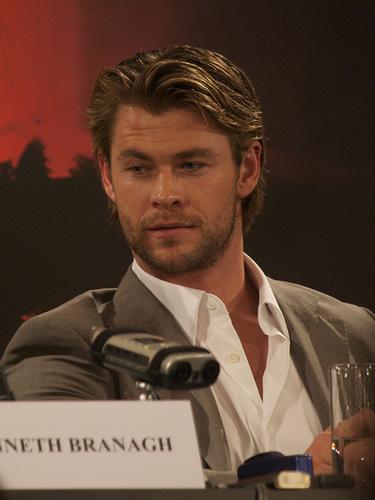 "Chris Hemsworth Dancing to Miley Cyrus' ""Wrecking Ball""."