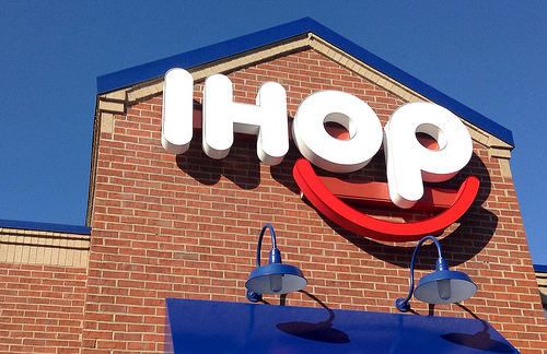 Mystery of IHOP's Name Change to IHOb Is Solved! The B Stands For Burgers.