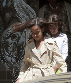 Malia Obama Rocks Out in Music Video Debut.