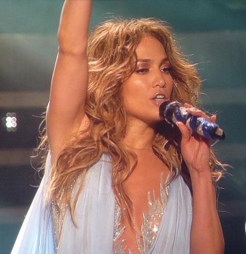 "Jennifer Lopez Looks ""Just Peachy"" in a Skimpy Swimsuit."