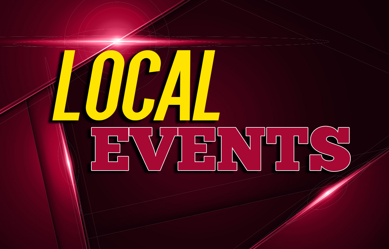 EVENTS COMING UP THIS WEEK
