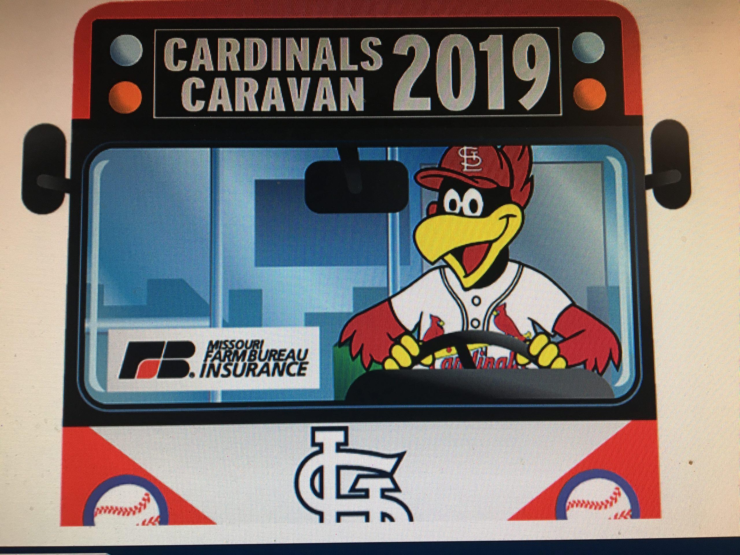 2019 ST. LOUIS CARDINALS CARAVANS