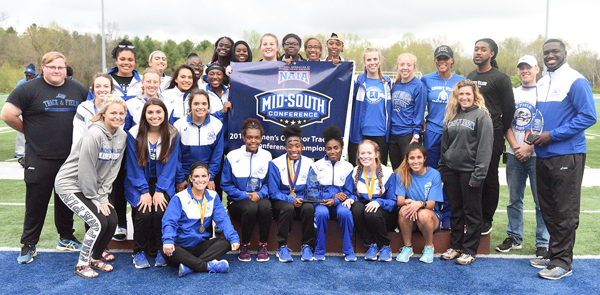 Lindsey Wilson Women's Track & Field captures Mid-South Conference Championship