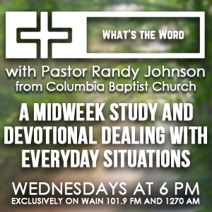What's the Word with Pastor Randy Johnson