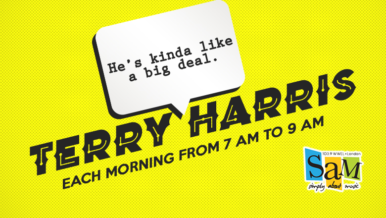 Feature: http://www.sam1039.com/terry-harris-in-the-morning/