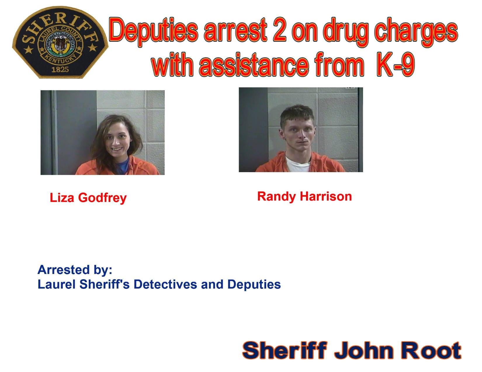 Two People Are Arrested During Laurel County Drug Investigation