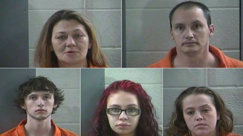 Laurel County Police Net 5 In Drug Bust