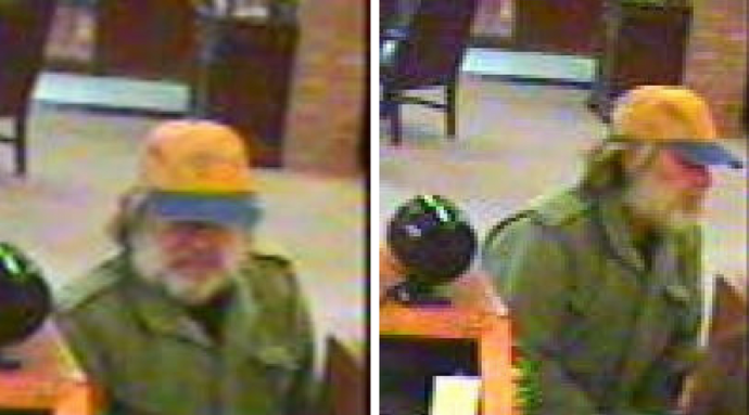 Corbin Police Looking For Bank Robber