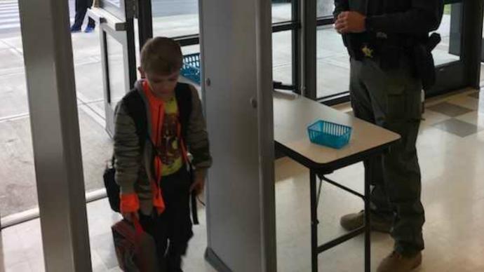 East Bernstadt School Installs Metal Detectors