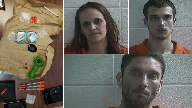 Laurel County Police Nab Four In Meth Bust