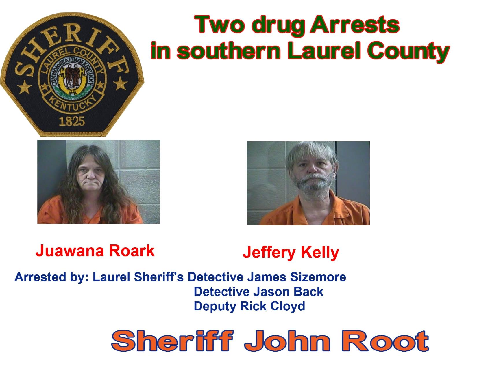 Two People Arrested In Laurel County Drug Bust