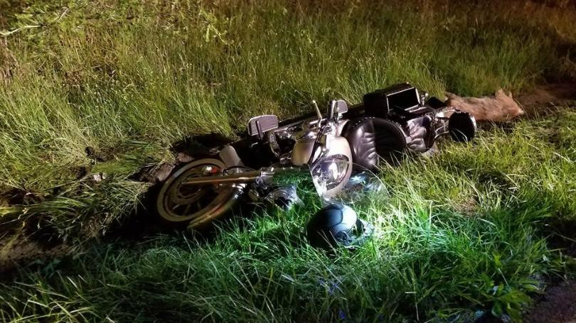 Man And Woman On Motorcycle Injured In Crash With Deer