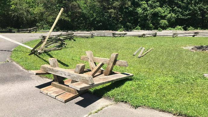 Corbin Police And Park Rangers Looking For Vandals