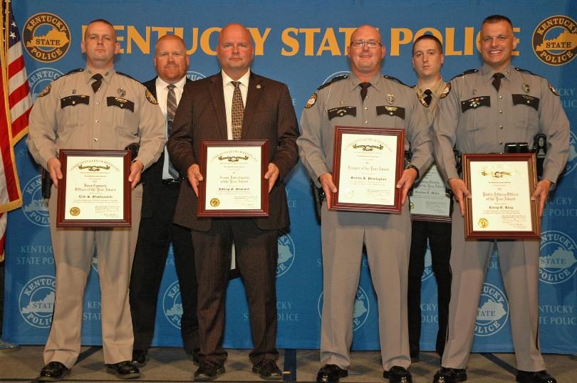 Two Eastern Kentucky Troopers Honored At KSP Awards