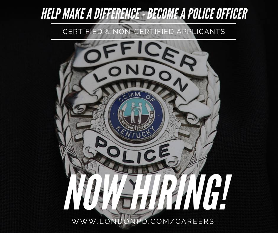London PD Taking Applications For Police Officers