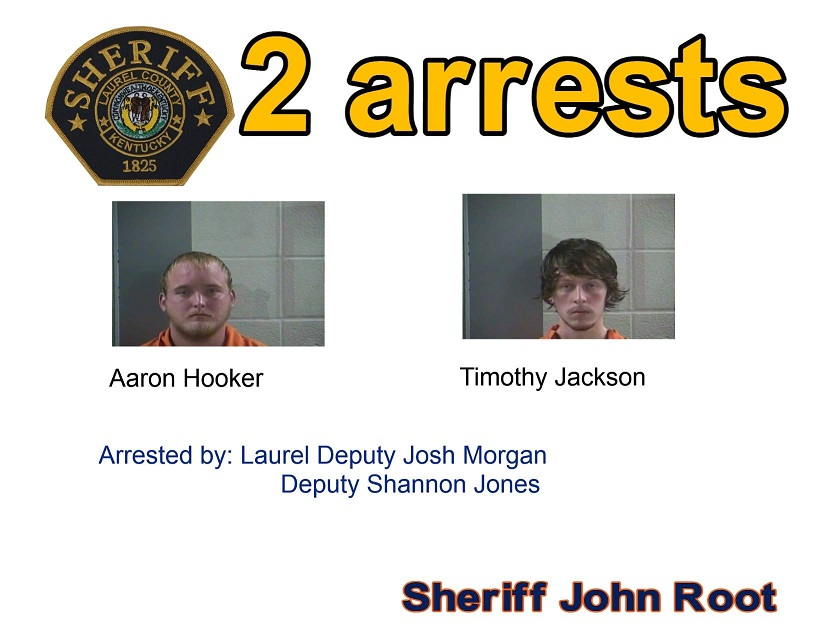 Two Intoxicated Men Arrested While Trespassing In Laurel County