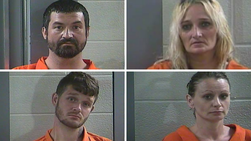 Laurel County Drug Bust Nets Four