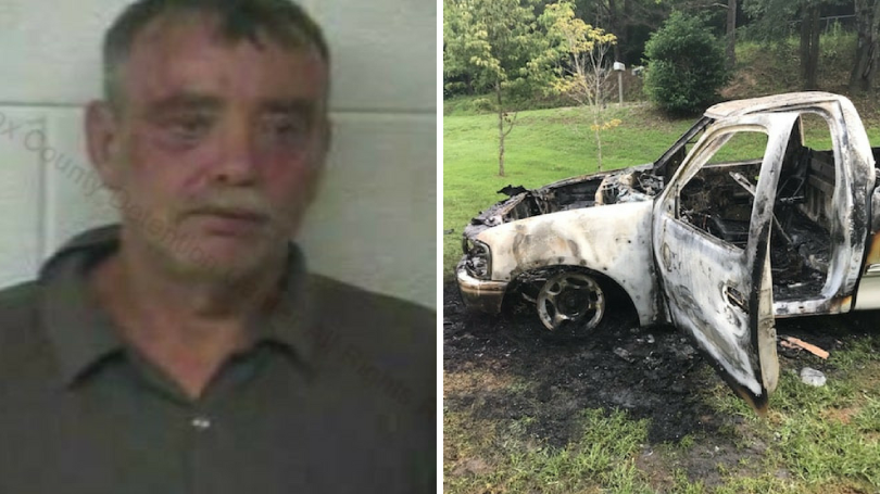Knox County Man Arrested, Another Sought, In Truck Burning Case