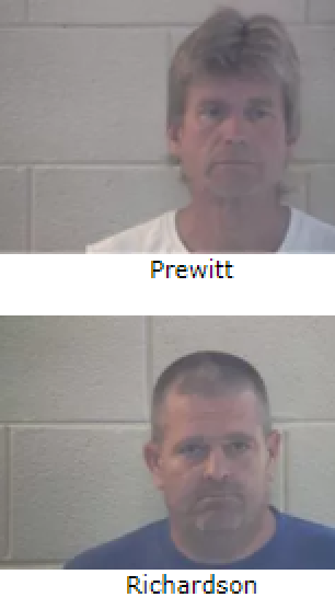 Two Men Arrested In Pulaski County Accused Of Helping Man In Kidnapping Minor