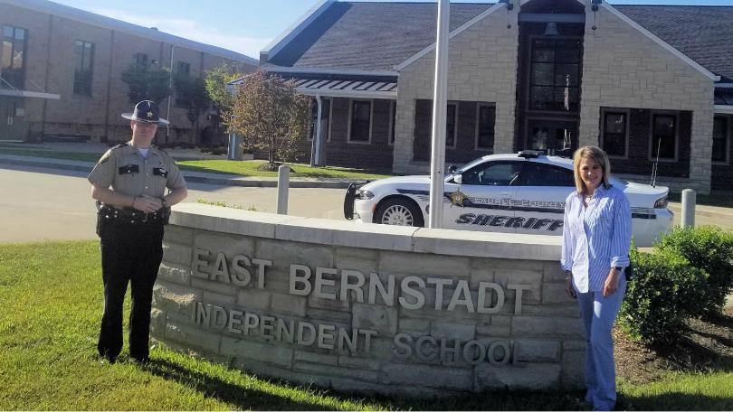 East Bernstadt Independent's First SRO In Place