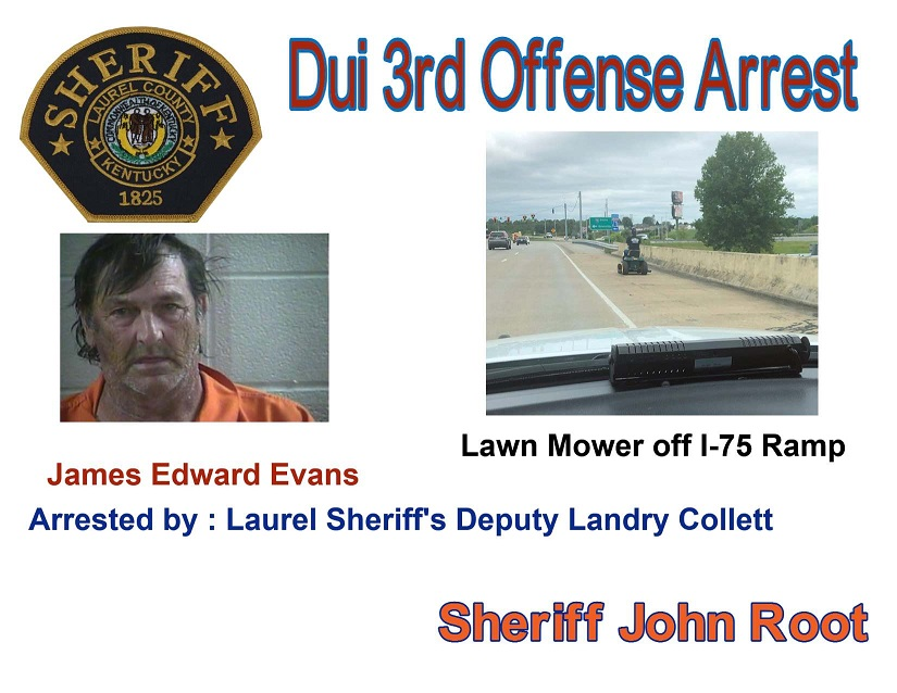 Man Arrested For DUI On Riding Lawnmower