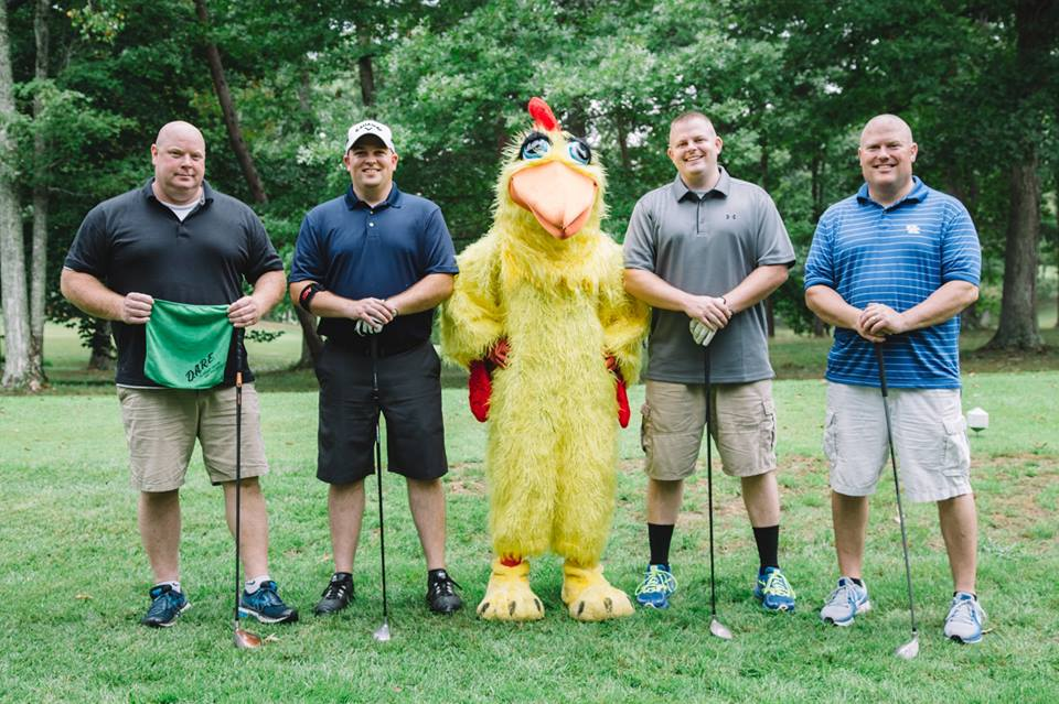 World Chicken Festival Golf Scramble Raises Funds For D.A.R.E.