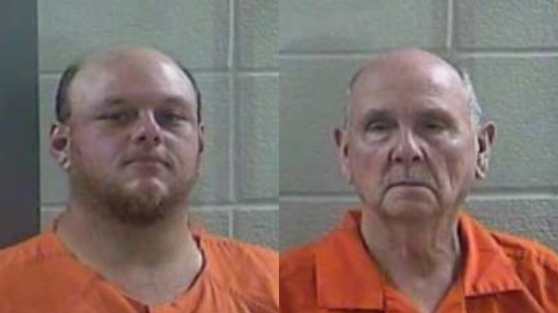 Two Laurel County Men Arrested After Deputies Find Stolen Trailer In Their Yard
