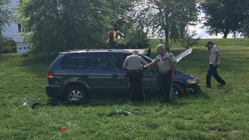 Man Injured In Pulaski County Crash