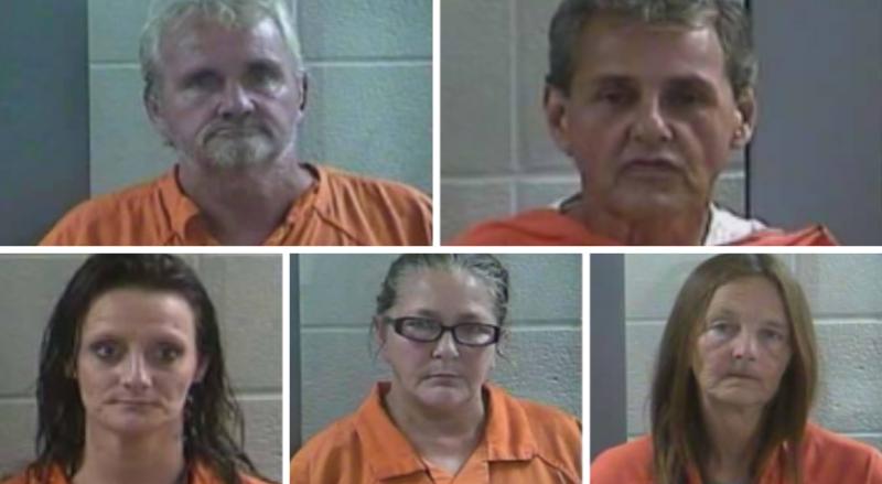 Laurel County Traffic Stop Leads To 5 Drug Arrests
